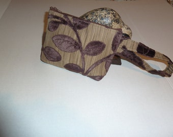 Tan/Brown Selection, Smart Phone i-Phone Wristlet Selection -  Zippered Case