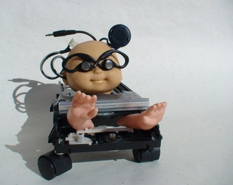 "Electro-Mutant Baby - Film Prop in Rebel Mouse Films Production ""The Crying Baby Mystery"""
