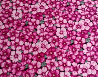 "Healing Garden by Bonnie Benn Stratton Vintage fabric 2 yd. x 44"" wide"