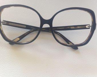 Designer Marc Jacobs Vintage 70s Oversized Eyeglasses Tortoise Huge Round Frame Women's  Sunglasses Made in Italy