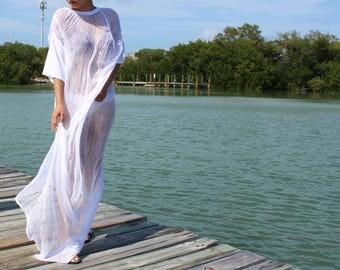 Shredded White Dress ~ slowshine