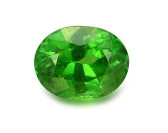 1.89ct Tsavorite Green Garnet Oval Shape Loose Gemstones (Watch Video) Free Shipping SKU 334A001