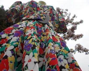 Vintage Jaegar floral Print Dress