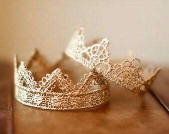 Newborn Crown SET- Photo Prop | Tiara - Darling and Bella, baby crowns, mini crowns, newborn twins