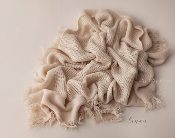 NEW Fringe Layers, Newborn Fabric Layer, Soft Textured Layer/Wrap, Long Baby Wrap, Newborn Layering Fabric, RTS