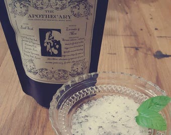 All Natural Lavender and Mint Bath Soak