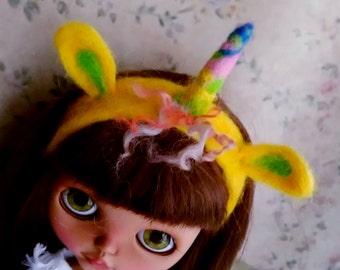Hair band  hand made  for blythe or similar dolls