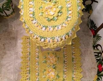 2 Piece Crochet Set Etsy