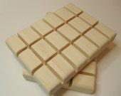 Natural Bamboo Soap Dish - Handmade