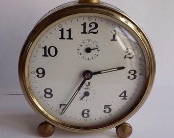 Vintage French Alarm Clock    (BX  03)
