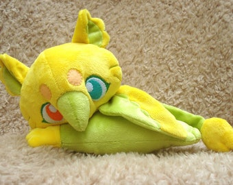 Yellow and Green Baby Griffin Plush Doll