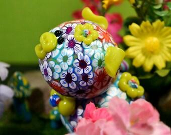 Bouquet Polymer Clay Piglet