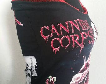 Cannibal Corpse ladies tank top band shirt - death metal, heavy metal. Available in many sizes.