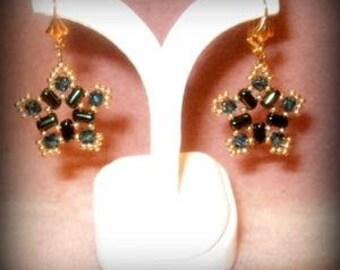 Evening Star Dangle Earrings
