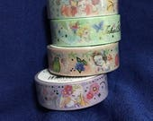 Japanese Disney Princess Washi Foil Tape (Pick 1): Snow white, Ariel, Rapunzel, or Tinker bell