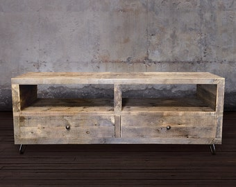 Reclaimed Wood Televsion Stand, Reclaimed Wood Furniture