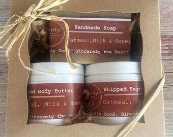 Oatmeal, Milk & Honey Gift Set