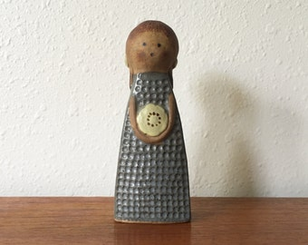 1970s Japanese Ceramic Figural Girl / Counterpoint Imports