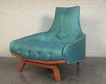 Swanky Mid-Century Lounge Chair Hollywood Style By Gaines MFG Company - Shipping NOT Included