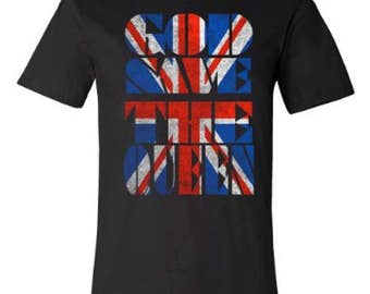 God Save the Queen T-shirt | Union Jack Tee