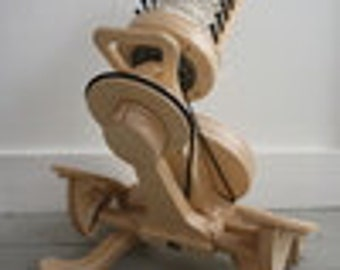 HOPPER Spinolution spinning wheel with flyer, bobbin, and package deal options
