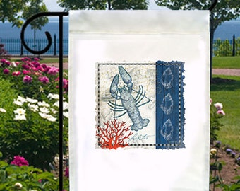 Blue Lobster New Small Garden Flag Decor Beach Summer Gifts Events