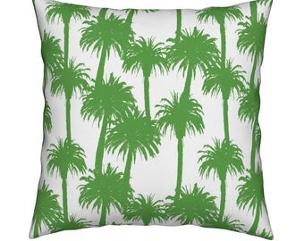 Cali Green Pillow Cover