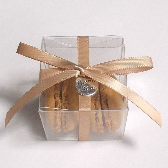Macaron Favor BoxesWedding Favor Boxes, Macaron Favor Box, Clear ...