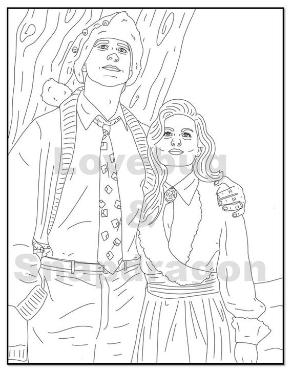 national lampoon s christmas vacation coloring book