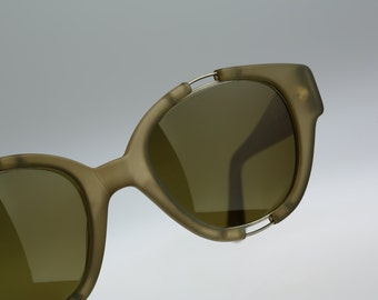 Les Copains Mod 11 Col 908 Hand Made in Italy / Vintage sunglasses / NOS / 90s Rare designer eyewear