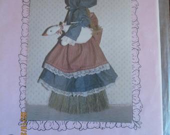 Goose Girl Broom Cover Pattern