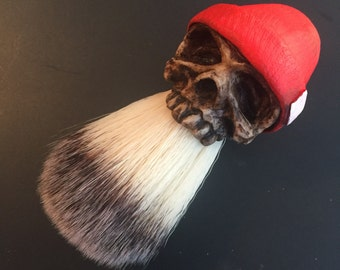 Beanie Shaving Brush (Orange)