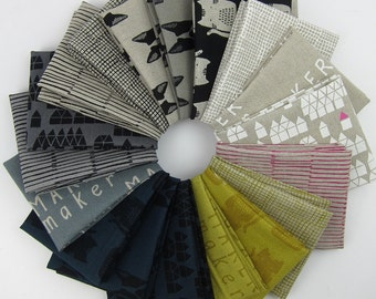 Maker Maker by Sarah Golden Fat Quarter Bundle - Andover - 18 Fat Quarters - 4.5 Yards Total