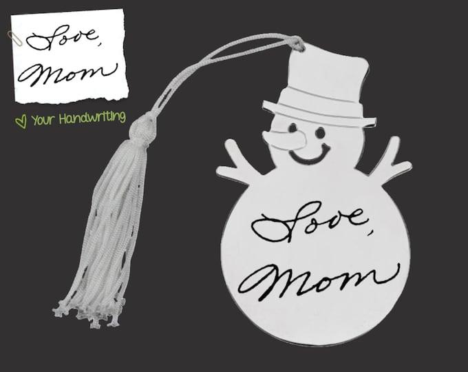 Handwriting Ornament | Personalized Ornament | Custom Ornament | Personalized Christmas Ornaments | Mom Gift | Korena Loves