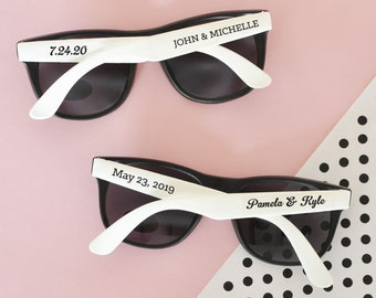 Sunglasses for Wedding party or Bachelorette party - Customizable