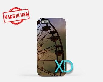 Ferris Wheel iPhone Case,  Fair iPhone Case, Festival iPhone 8 Case, Park, iPhone 6s Case, iPhone 7 Case, Phone Case, iPhone X Case, SE Case