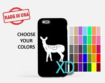 Simple Doe iPhone Case, Deer iPhone Case, Doe iPhone 8 Case, iPhone 6s Case, iPhone 7 Case, Phone Case, iPhone X Case, SE Case