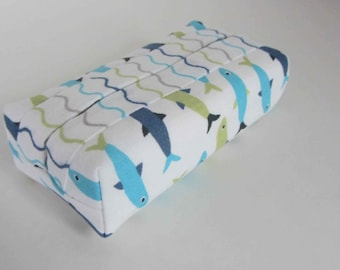 Tissue holder, Pocket tissue holder, Fabric tissue holder, Provence tissue holder