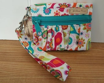 Gathered Get Carded wristlet