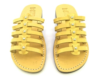 Leather Sandals, Leather Sandals Women, Sandals, Women's Shoes, NEPTUN, Flip Flops, Biblical Sandals, Jesus Sandals
