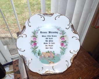 Kitschy House Blessing Plate For Your Kitchen