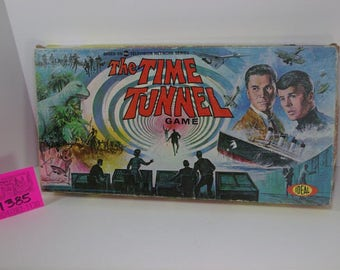 1966 Ideal Time Tunnel Board game