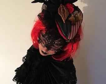 Vagina Fascinator hat