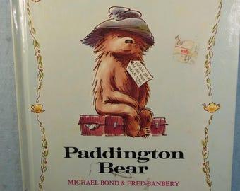 Vintage-1973-Paddington Bear-First Print-Michael Bond -Fred Banbery