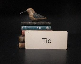 Vintage Flash Card Tie