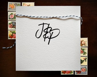 Wedding Monogram Stamp