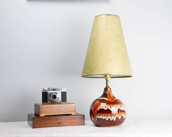 Chalvignac Drip Glaze Table Lamp