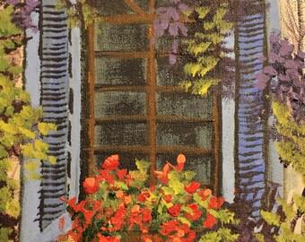 digital print- Tuscany Window