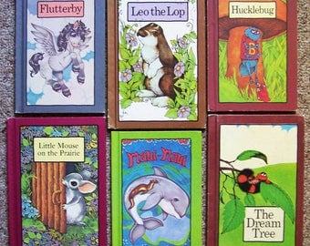 Serendipity Book Collection - 6 Hardcover Children's Books - Stephen Cosgrove - Flutterby, Hucklebug, Leo the Lop, Maui-Maui, The Dream Tree