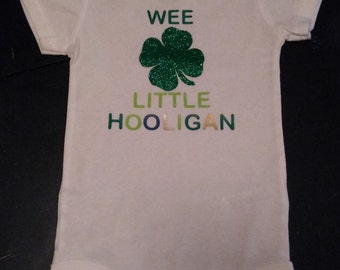 Baby Toddler Kids St. Patrick's Day Shirt Onesie